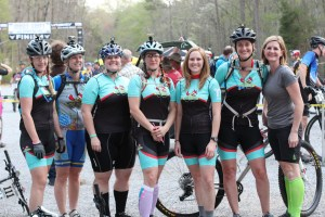 Sporting the new cycling kits by Escadrille