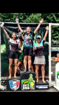 Podium at Black Bear, 40 Mile Race
