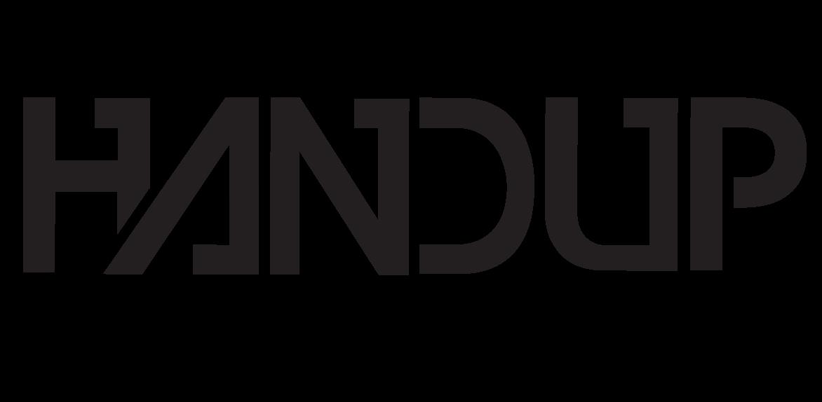 Black Handup Logo 600 x 600 No BKG